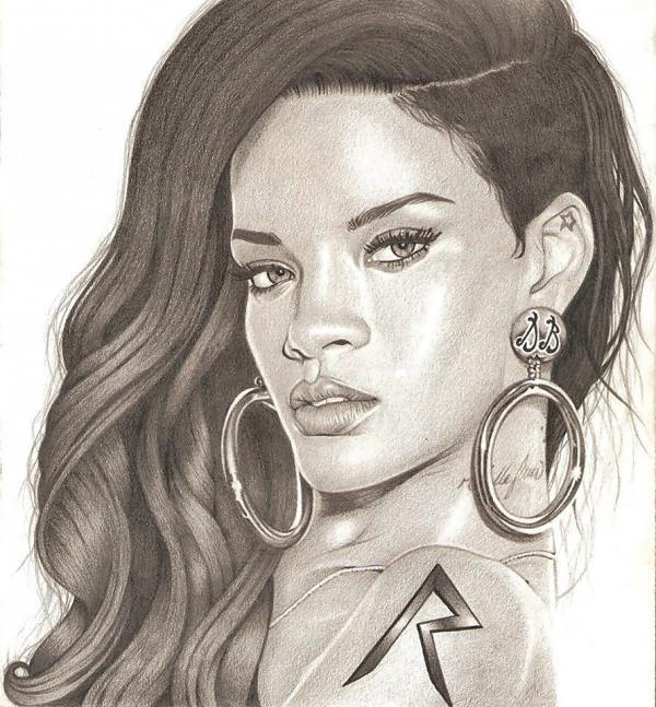 Rihanna by danielbulacu